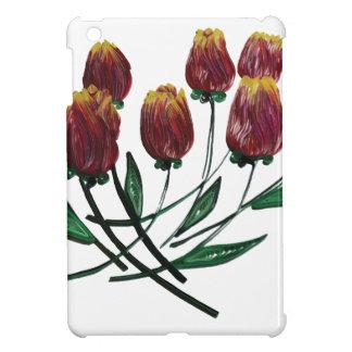 Quilled Tulips iPad Mini case