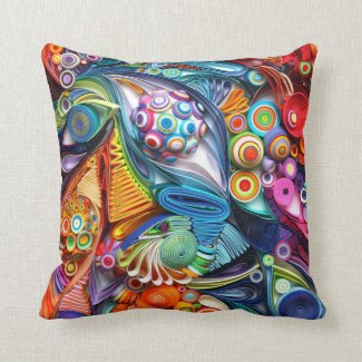 Quilling cushion