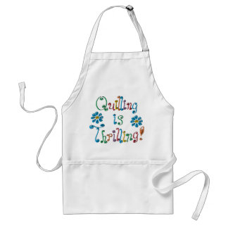 Quilling Is Thrilling Adult Apron