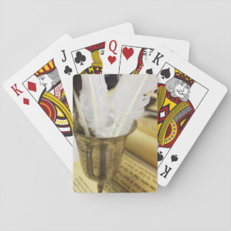 Quills & Parchment Playing Cards