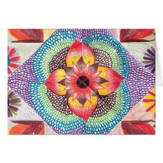 Quilt Art by Skinny Bones Greeting Card
