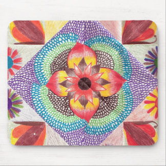 Quilt Art by Skinny Bones Mouse Pads