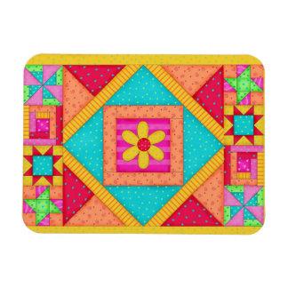 Quilt Art  Flexible Magnet