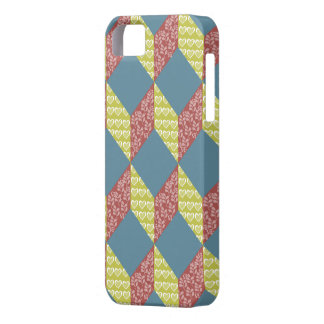 Quilt Baby Block Pattern in Retro Colors iPhone SE/5/5s Case