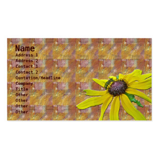 Quilt, Bee, and Black Eyed Susan Business Card