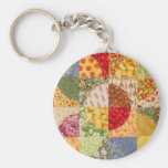 Quilt Block 7 Key Chain