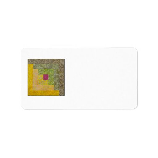 Quilt Block Address Labels