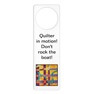 Quilt Block Door Hanger! Door Hanger