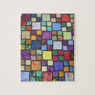 Quilt Block Jig-Saw Puzzle