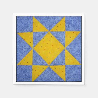 Quilt Block Napkin C