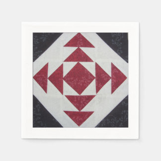Quilt Block Napkin F