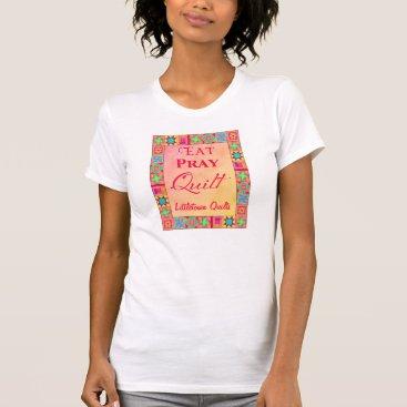 Professional Business Quilt Block Patchwork Art Quilt Business Promotion T-Shirt