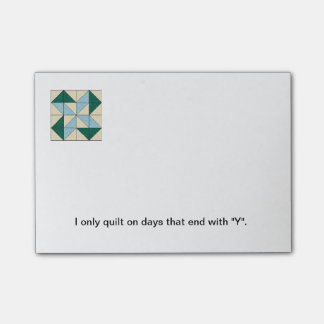 Quilt Block Post-it Notes G Post-it® Notes