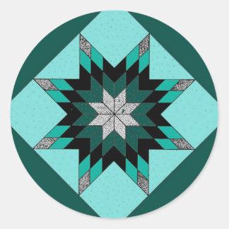 Quilt Block Sticker