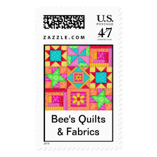 Quilt Blocks Art Postate Stamps