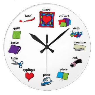 Quilt Clock