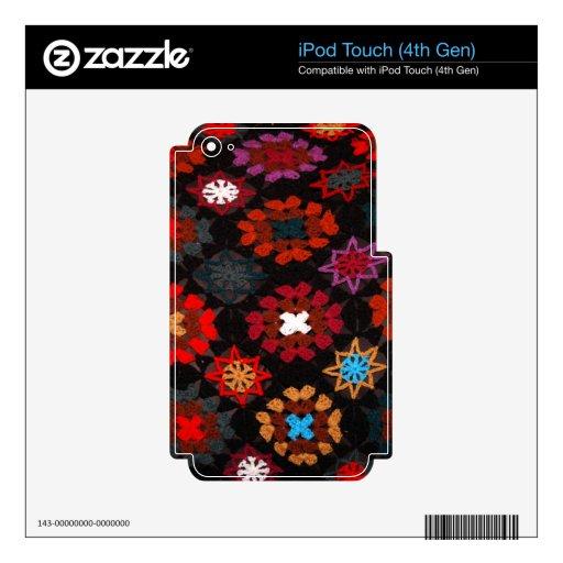 Quilt Crochet iPod Touch 4G Decals