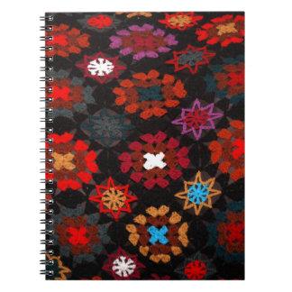 Quilt Crochet Notebook