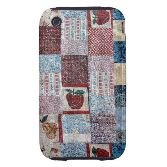 Quilt Design iPhone 3 Tough Case
