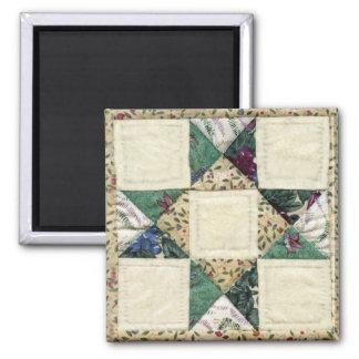 Quilt Design Magnet