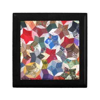 Quilt Fabric Jewelry Box