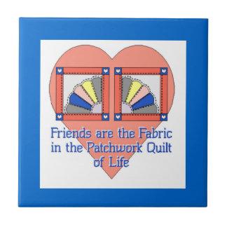Quilt Friendship Tile