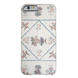 Quilt in 'Broderie Perse', c.1800 (applied, printe Barely There iPhone 6 Case