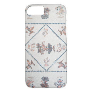Quilt in 'Broderie Perse', c.1800 (applied, printe iPhone 7 Case