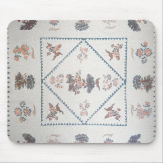 Quilt in 'Broderie Perse', c.1800 (applied, printe Mouse Pad