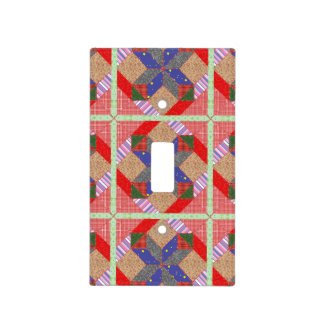 Quilt Light Switch Cover