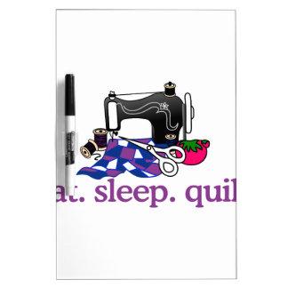 Quilt (Machine) Dry Erase Board