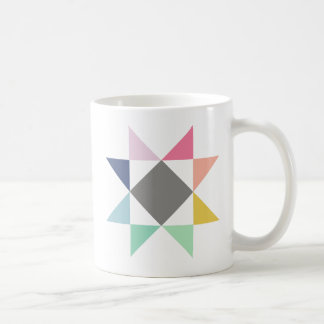 Quilt mug, Coffee mug, Quilt block mug