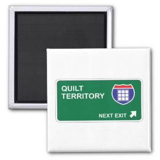 Quilt Next Exit Magnet