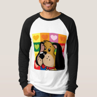 Quilt of Hearts Dog Tee Shirts