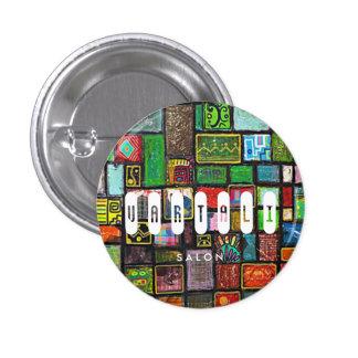 Quilt Painting Vartali Round Button