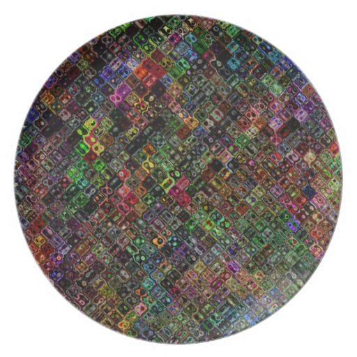 Quilt Party Plate