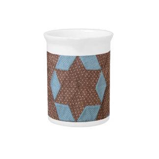 Quilt Pattern - Castle Beverage Pitcher
