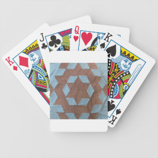 Quilt Pattern - Castle Bicycle Playing Cards