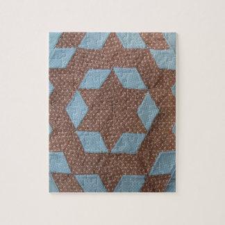Quilt Pattern - Castle Jigsaw Puzzle