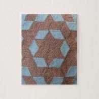 Quilt Pattern - Castle Jigsaw Puzzles