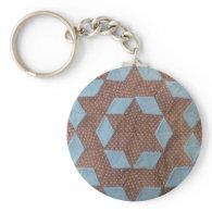 Quilt Pattern - Castle Keychain