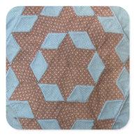 Quilt Pattern - Castle Square Sticker