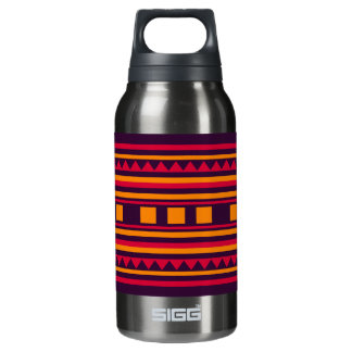 Quilt pattern insulated water bottle