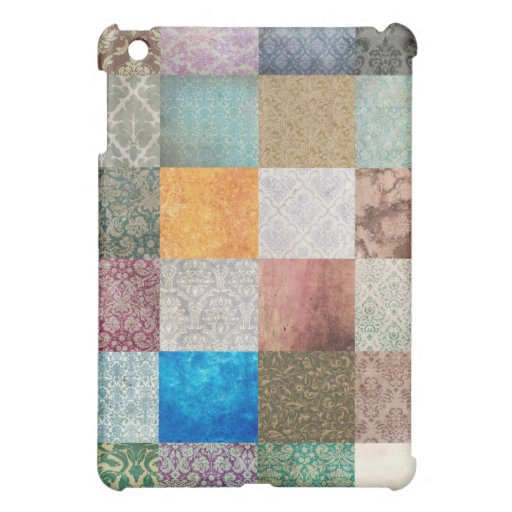 Quilt pattern iPad mini cover