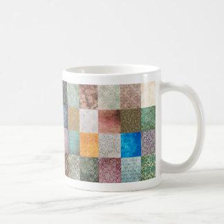 Quilt pattern coffee mug
