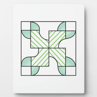 QUILT PATTERN DISPLAY PLAQUES