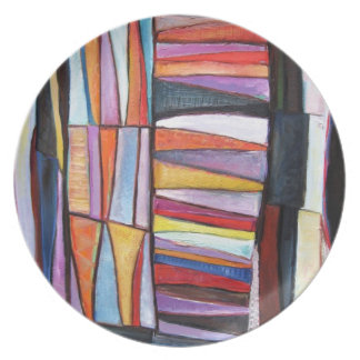 quilt pattern plate