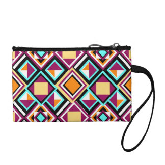 Quilt Pattern Repeat Clutch