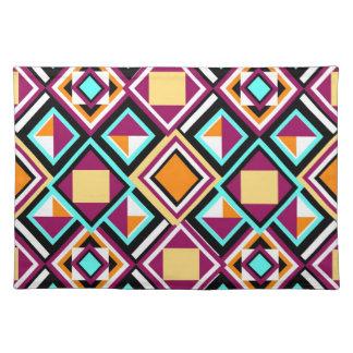 Quilt Pattern Repeat Place Mat Cloth Placemat