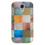 Quilt pattern samsung galaxy s4 cover